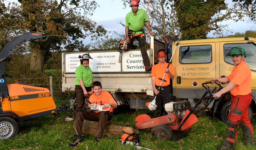 Cross Country Services. Isle of Wight Tree Surgery & Woodland Management